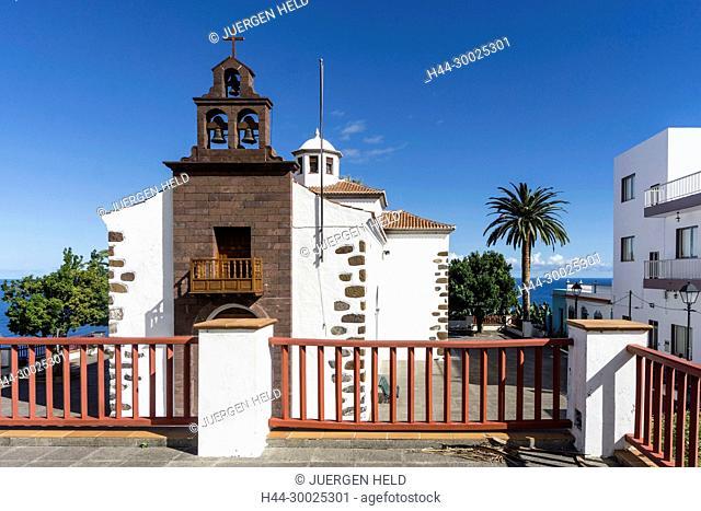 Ermita de San Juan , Village church, La Palma, Canary Islands, Spain