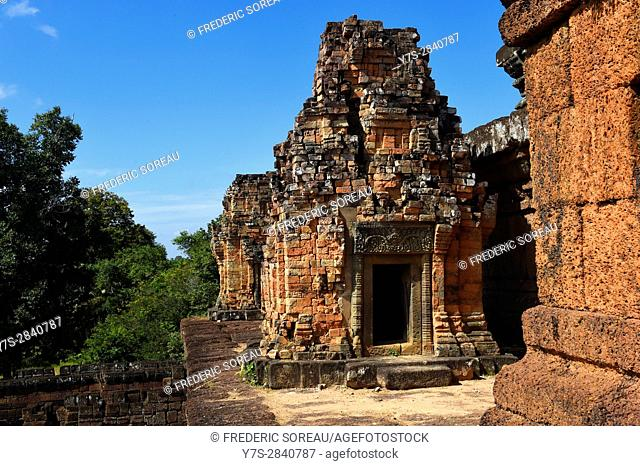 Pre Rup temple,Angkor,Siem Reap,Cambodia,Indochina,Southeast Asia,Asia