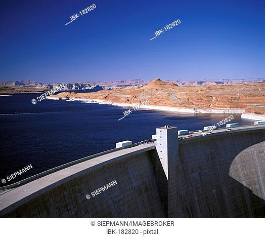 Glen Canyon Dam, Lake Powell, Arizona, USA