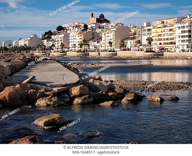 Altea, Alicante seaside view