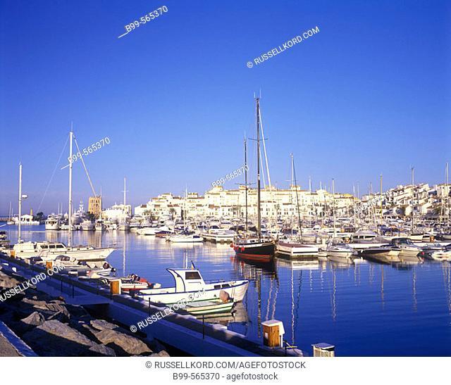 Puerto Banús, Marbella, Costa Del Sol, Andalucia, Spain