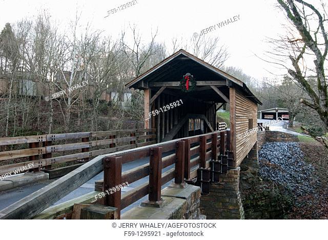 Harrisburg Covered Bridge, Sevier County, TN