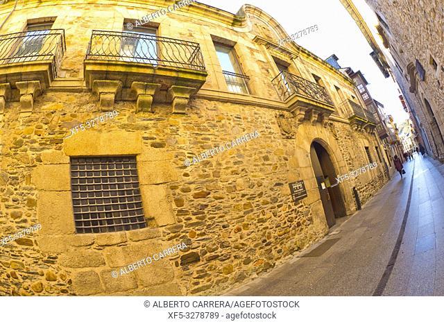 El Bierzo Museum, Old Consistorial Palace 16th Century, Old Prison, Old Town, Ponferrada, León Province, Castilla y León, Spain, Europe