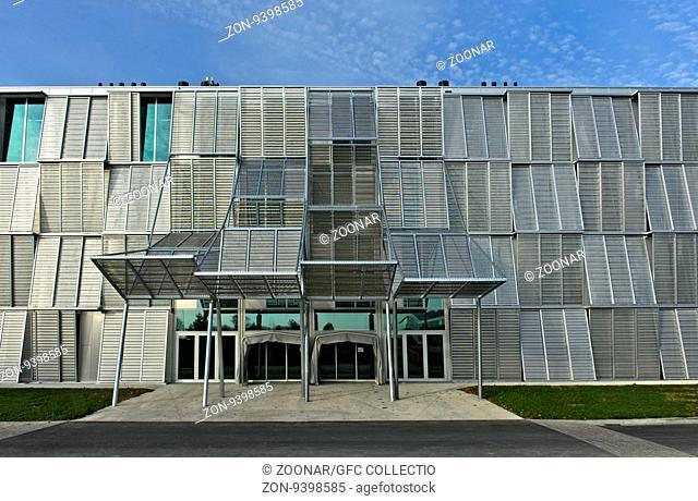 Gebäude ME, Architekt Dominique Perrault Architecture, Eidgenössische Technische Hochschule Lausanne, École polytechnique fédérale de Lausanne, EPFL, Lausanne