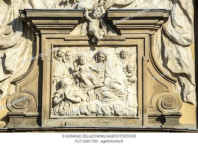Dietrichstein family tomb, cultural monument, originally built as a copy of the Holy House of Loreto. Mikulov in Czech Republic