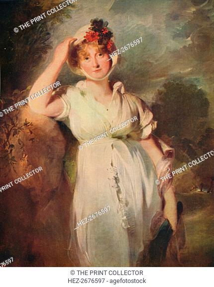 'Caroline of Brunswick (1768-1821), Queen of George IV', 1798, (c1915). Artist: Thomas Lawrence