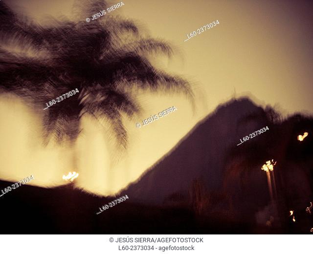 Landscape in Rio de Janeiro. Brazil