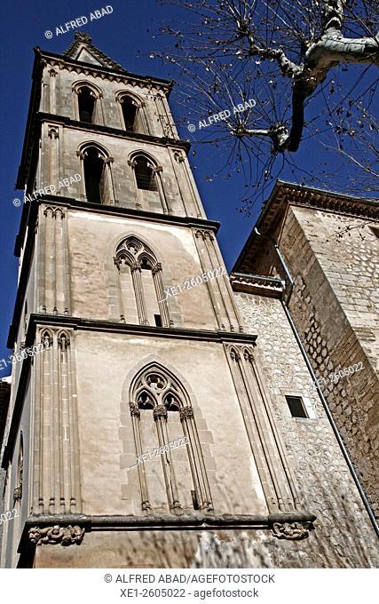 Church of Sant Bartomeu, Soller, Mallorca, Balearic Island, Spain