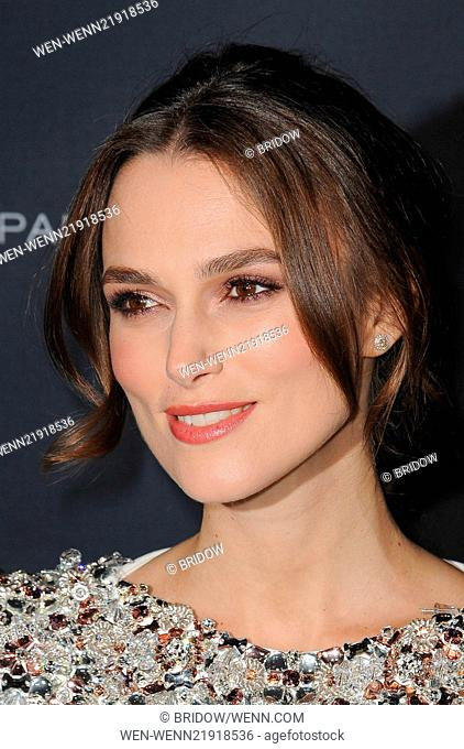 Los Angeles premiere of 'The Imitation Game' at the DGA Theater - Arrivals Featuring: Keira Knightley Where: Los Angeles, California