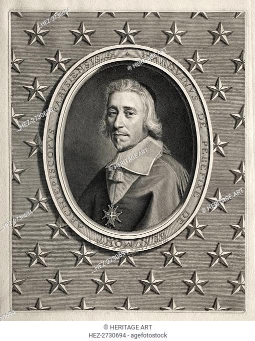 Hardouin de Péréfixe de Beaumont, 1665. Creator: Robert Nanteuil (French, 1623-1678)