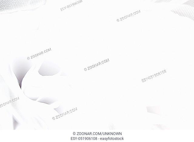 textile wedding background. close up photo. macro