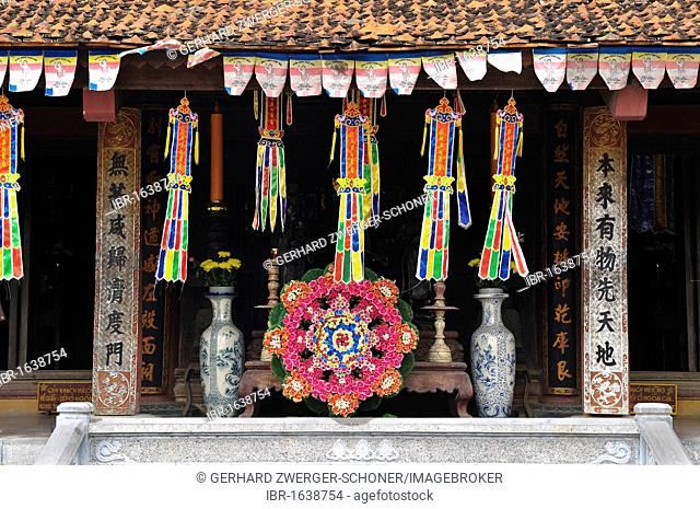 Thien Tru Pagoda in the Perfume Pagoda, near Ninh Binh, dry Halong Bay, Vietnam, Southeast Asia