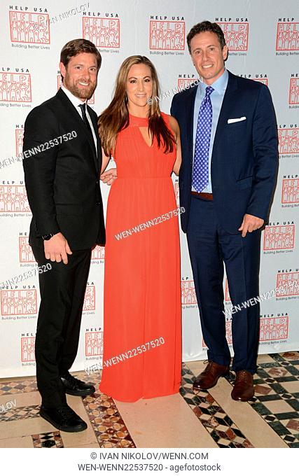2015 HELP USA's Hero Awards Dinner Featuring: Noah Galloway, Jamie Boyd, Chris Cuomo Where: Manhattan, New York, United States When: 29 May 2015 Credit: Ivan...
