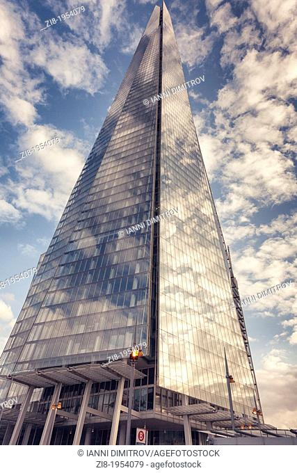 The Shard on the Sound Bank,London,England
