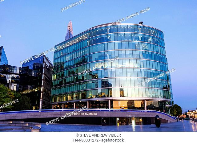 England, London, Southwark, More London Riverside Offices