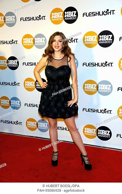 Adult Film Actress Alex Chance Arrives At The 2015 Xbiz Awards In Los Angeles Usa