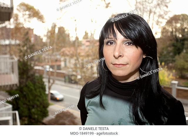 Portrait of a woman. Novara (Italy), 14th November 2013
