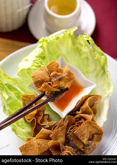 Fried wontons (China)