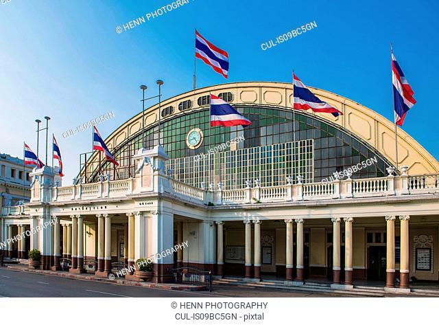 Train station, Bangkok, Thailand