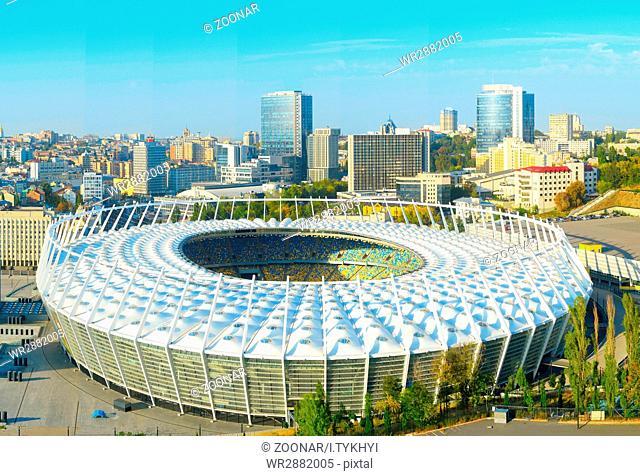Olimpyc Stadium. Kiev, Ukraine