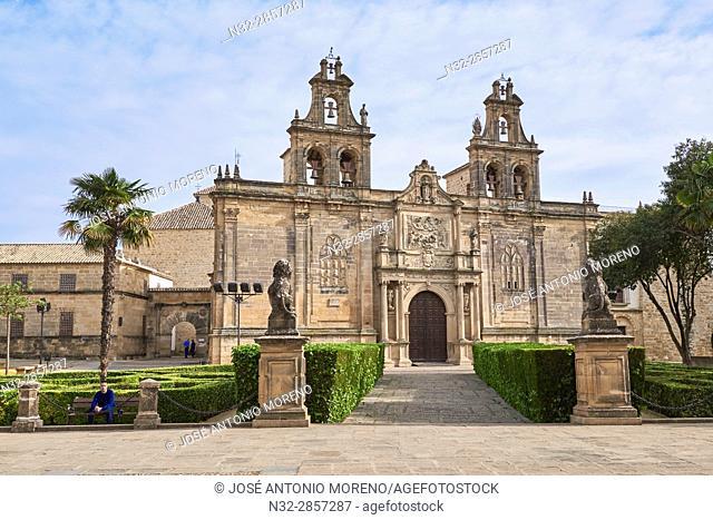 Church of Santa Maria de los Reales Alcazares, Vazquez de Molina Square, Úbeda. UNESCO World Heritage Site, Jaén province. Spain