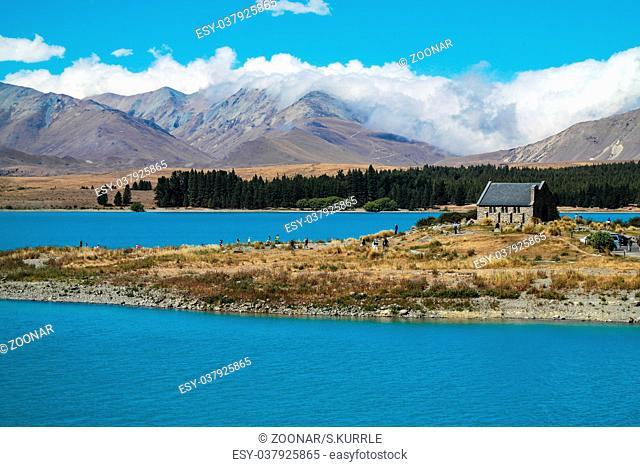 Church of the Good Shepherd at lake Tekapo - New Zealand