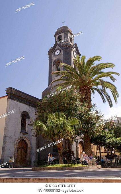 Nuestra Senora de la Pena de Francia Church, Puerto de la Cruz, Tenerife, Canary Islands, Spain, Europe