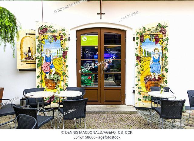 Klaipeda Lithuania a popular cruise ship destination on the Baltic Sea