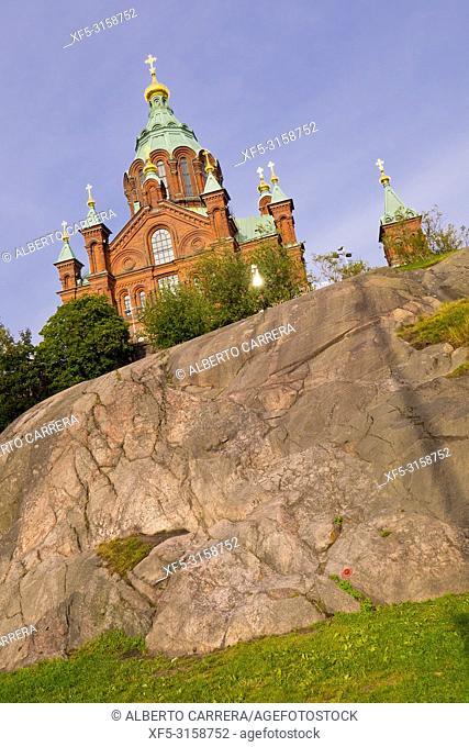 Uspenski Orthodox Cathedral, Helsinki, Finland, Europe