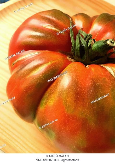 Raf tomato. Close view