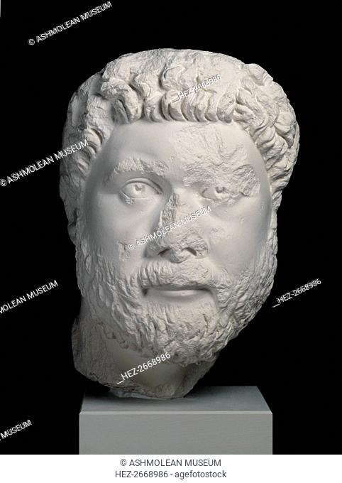 Head from portrait statue of Oecumenius, from Aphrodisias, c400. Artist: Unknown