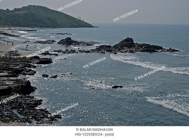 ANJUNA BEACH , GOA, INDIA