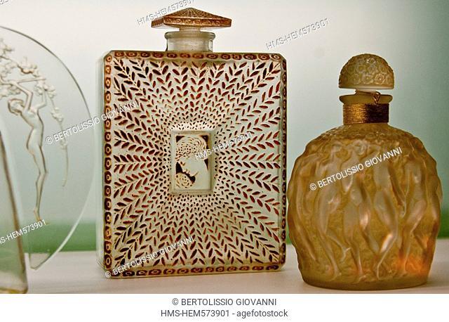 France, Alpes Maritimes, Grasse, Musee International de la Parfumerie International Museum of Perfumery, La Belle Saison Houbigant