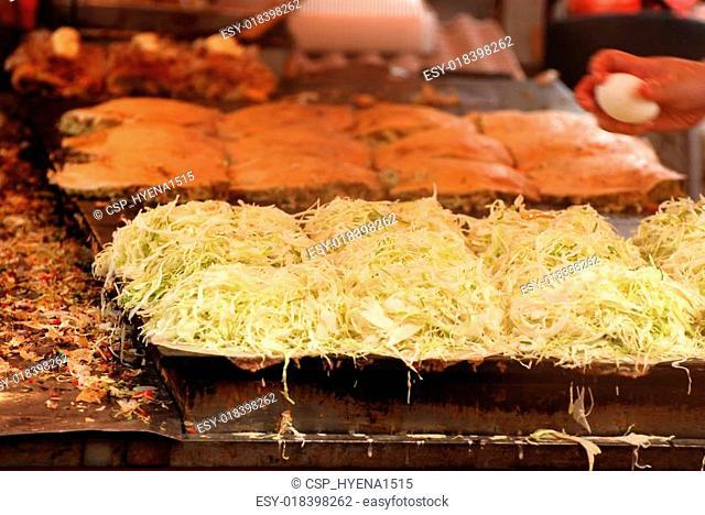 The Okonomiyaki japanese