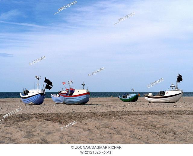 fishing boats in denmark