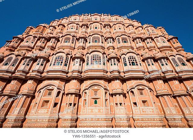 Hawa Mahal in Jaipur,Rajasthan,India