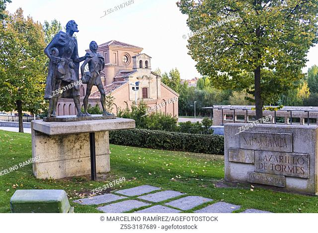 Monument to the Lazarillo de Tormes. Spanish novella, published anonymously because of its anticlerical content. Lazaro is a boy of humble origins from...