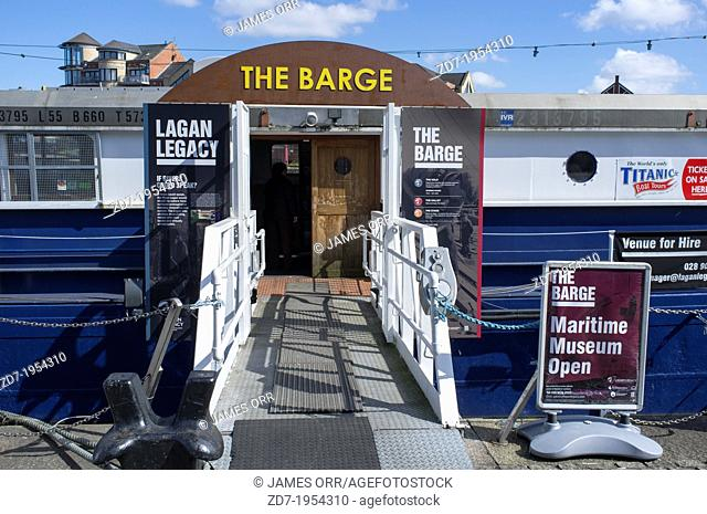 The Belfast Barge is the city's maritime themed visitor attraction, located beside Belfast Waterfront and minutes from the city centre