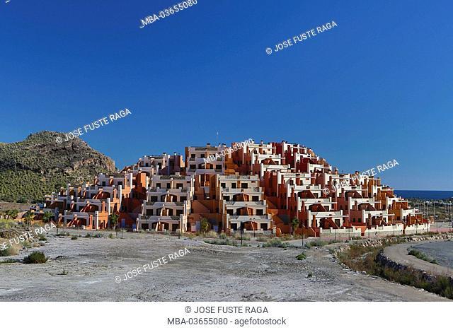 Spain, Andalusia, province Almeria, close Mojacar, new dwelling houses