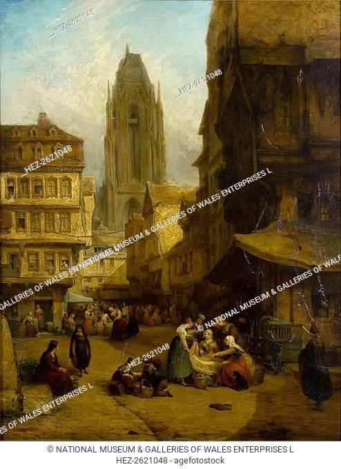 'A Continental Market Place', 1806-1869. Artist: George Jones