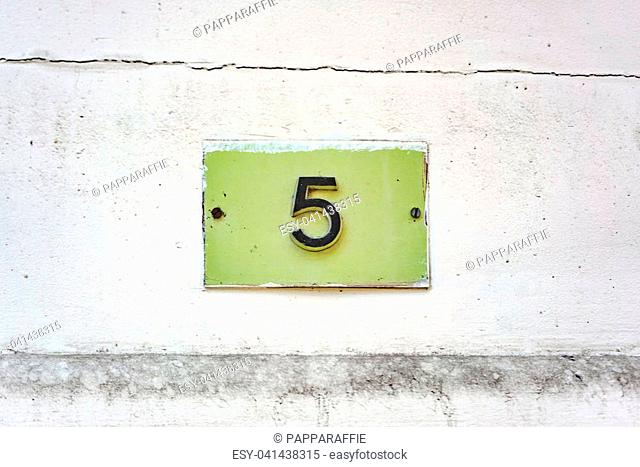 House number five (5)
