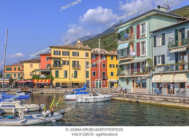 Castelletto di Brenzone, Veneto, Lake Garda, Italy, Europe