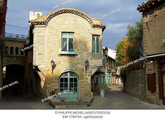 France, Aude department, Medieval city of Carcassonne