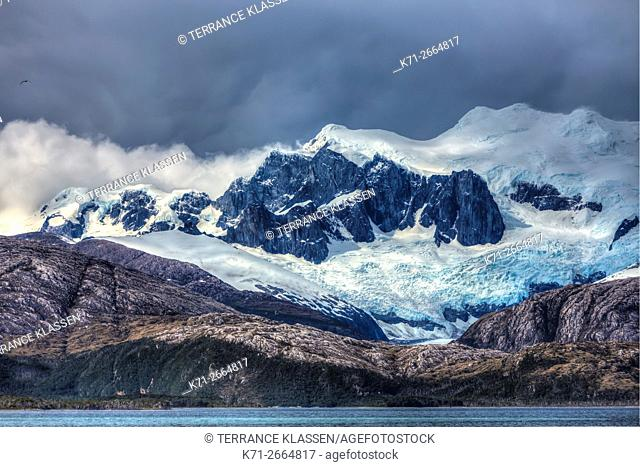 Beagle Channel, Glacier Alley, Avenue of the Glaciers, Chile, South America