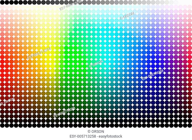 Color pallete (spectrum)