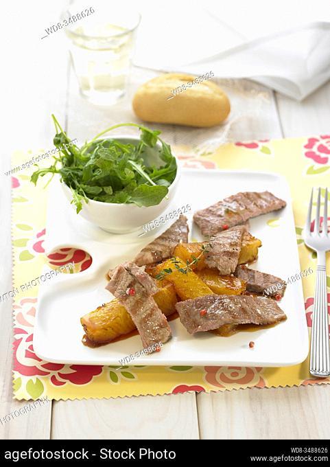 filetes de cerdo / pork steaks