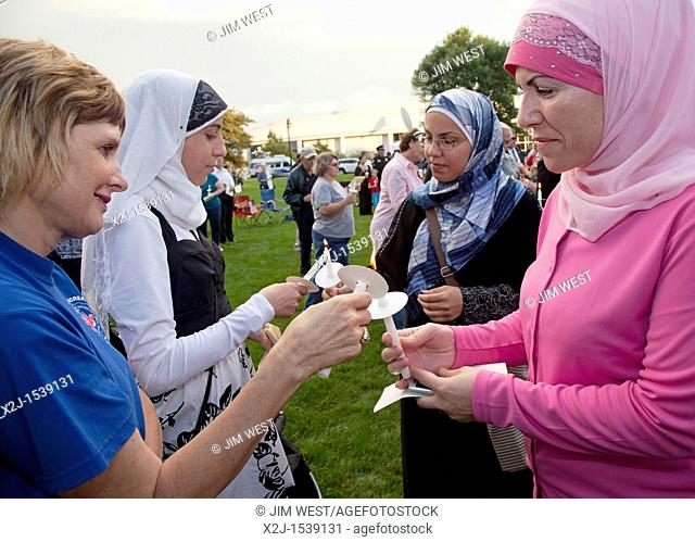 Dearborn, Michigan - An interfaith 'Remembrance and Unity Vigil' at The Henry Ford museum commemorated the tenth anniversary of the September 11 attacks on New...