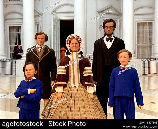 August 25, 2020 - Springfield, Illinois, USA: The Abraham Lincoln Presidential Library and Museum documents the life of the 16th U.S