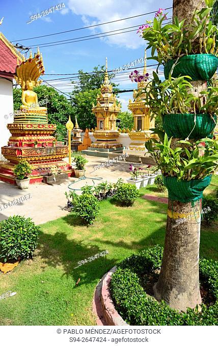 Wat Xieng Nyean of Vientiane, Laos