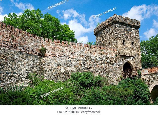 CZ, South Moravia,castle Bitov